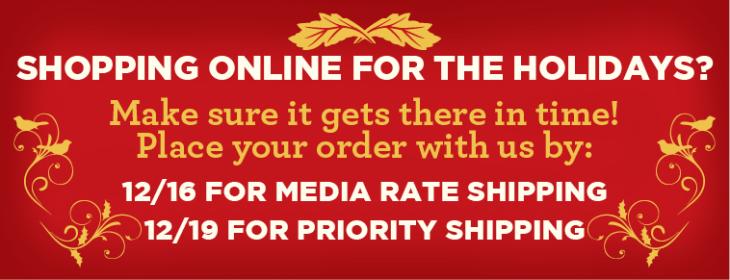 Holiday Shipping No Link