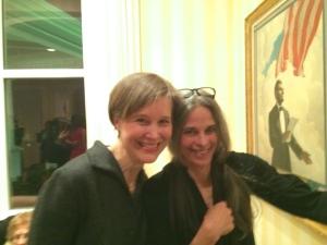 Ann with Sally Mann