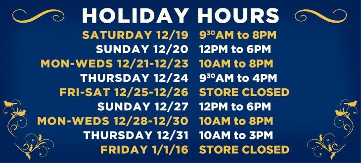 HolidayHours2015Musing
