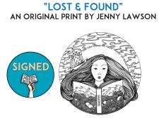 jenny lawson signed print
