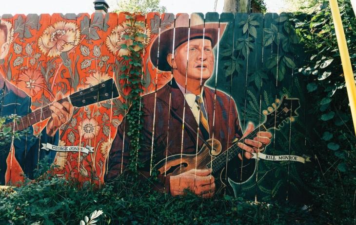 Bill Monroe Mural